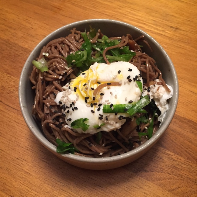 Shiro Miso Soba Noodles  - my new obsession - so so good!