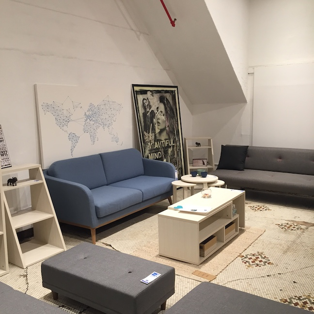 Another view of the showroom.