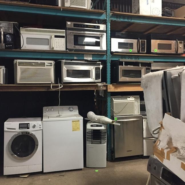 Appliances galore!