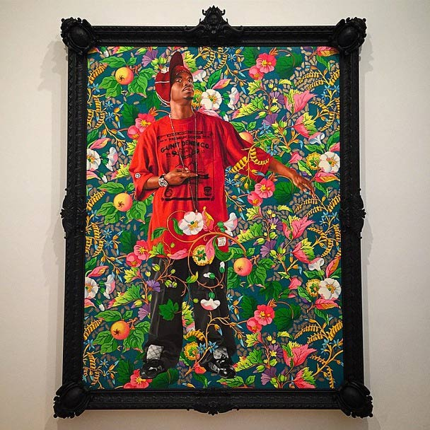 Kehinde Wiley at the Brooklyn Museum