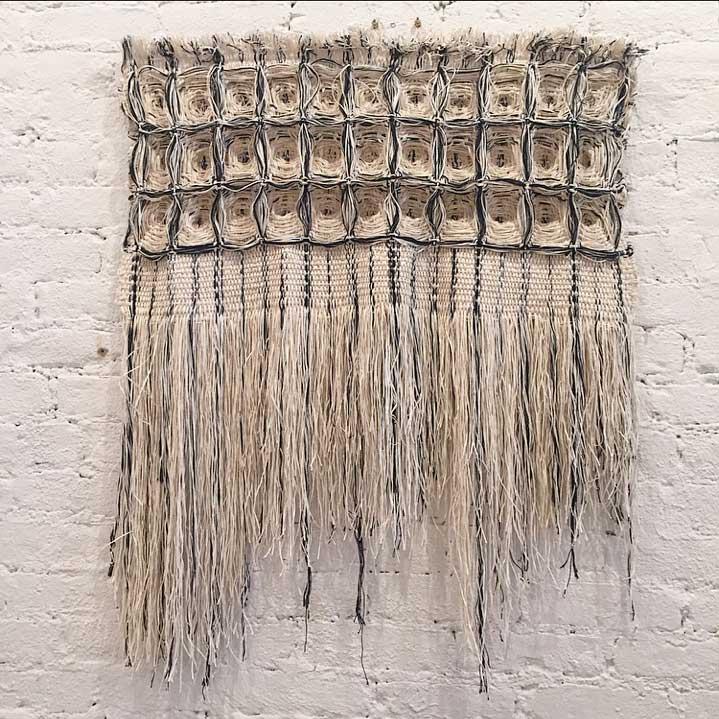 Textile weaving by  Hiroko Takeda