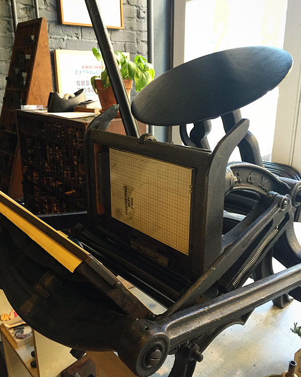 A beautiful piece of machinery.Image via  @lweatherbee .