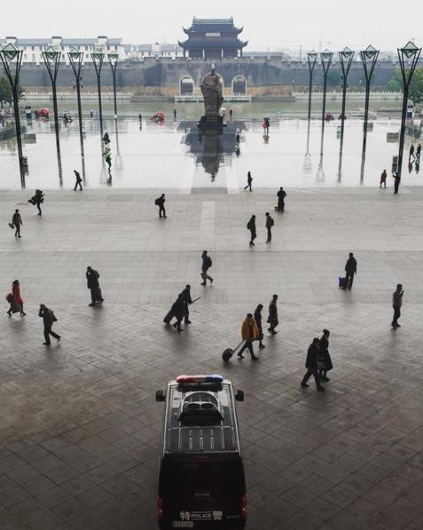 The train station at Suzhou, China. Image via  @jungletimer