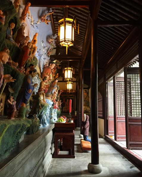 Inside the temple.Image via  @lweatherbee