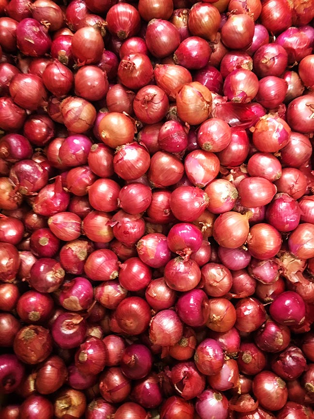 Delicious, New York State Grown & Certified red onions from Minkus Family Farms.