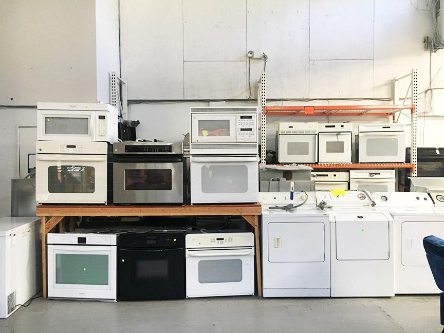 Appliances galore.
