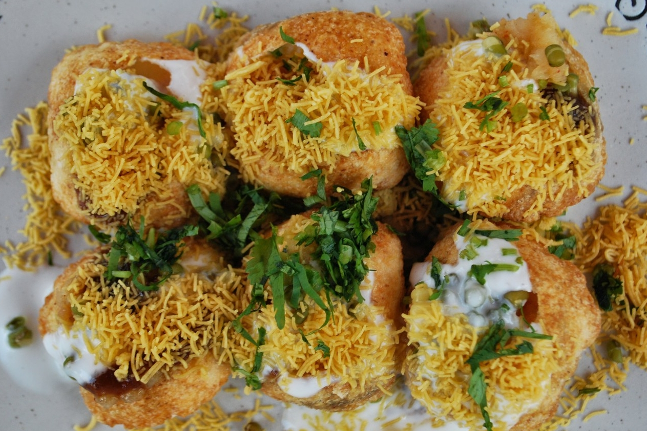 DAHI PURI - It pops with a punch of flavors!
