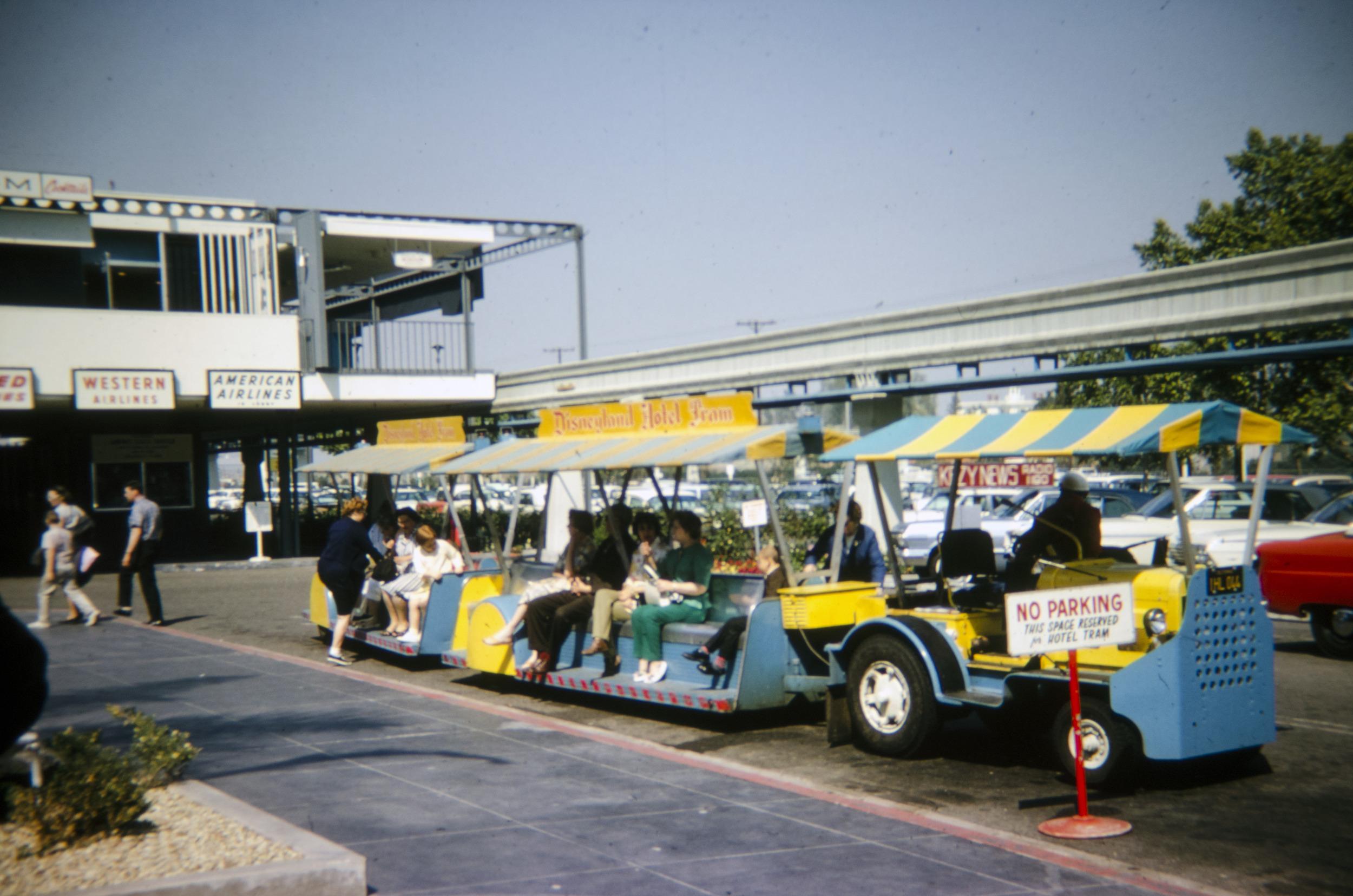 Disneyland Hotel Shuttle