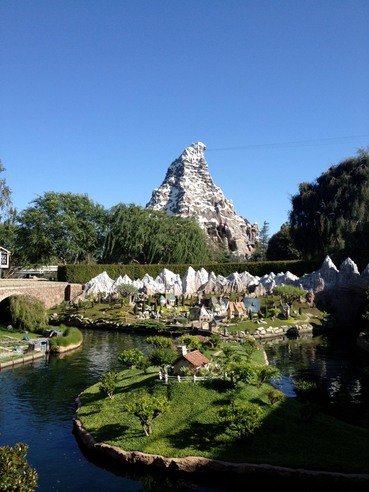Storybookland and Matterhorn