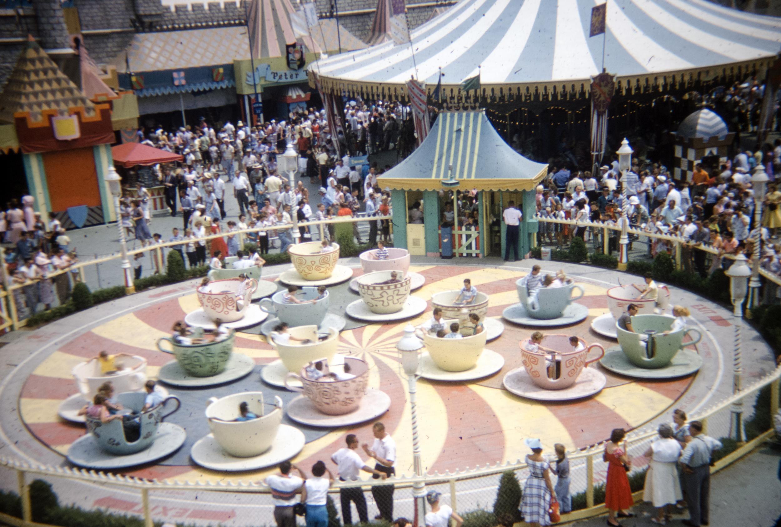 Fantasyland Teacups