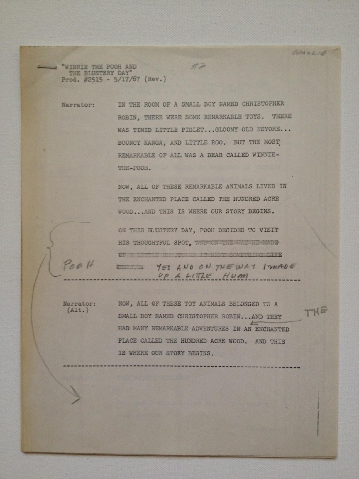 Original Script- Part of the MorTown Collection