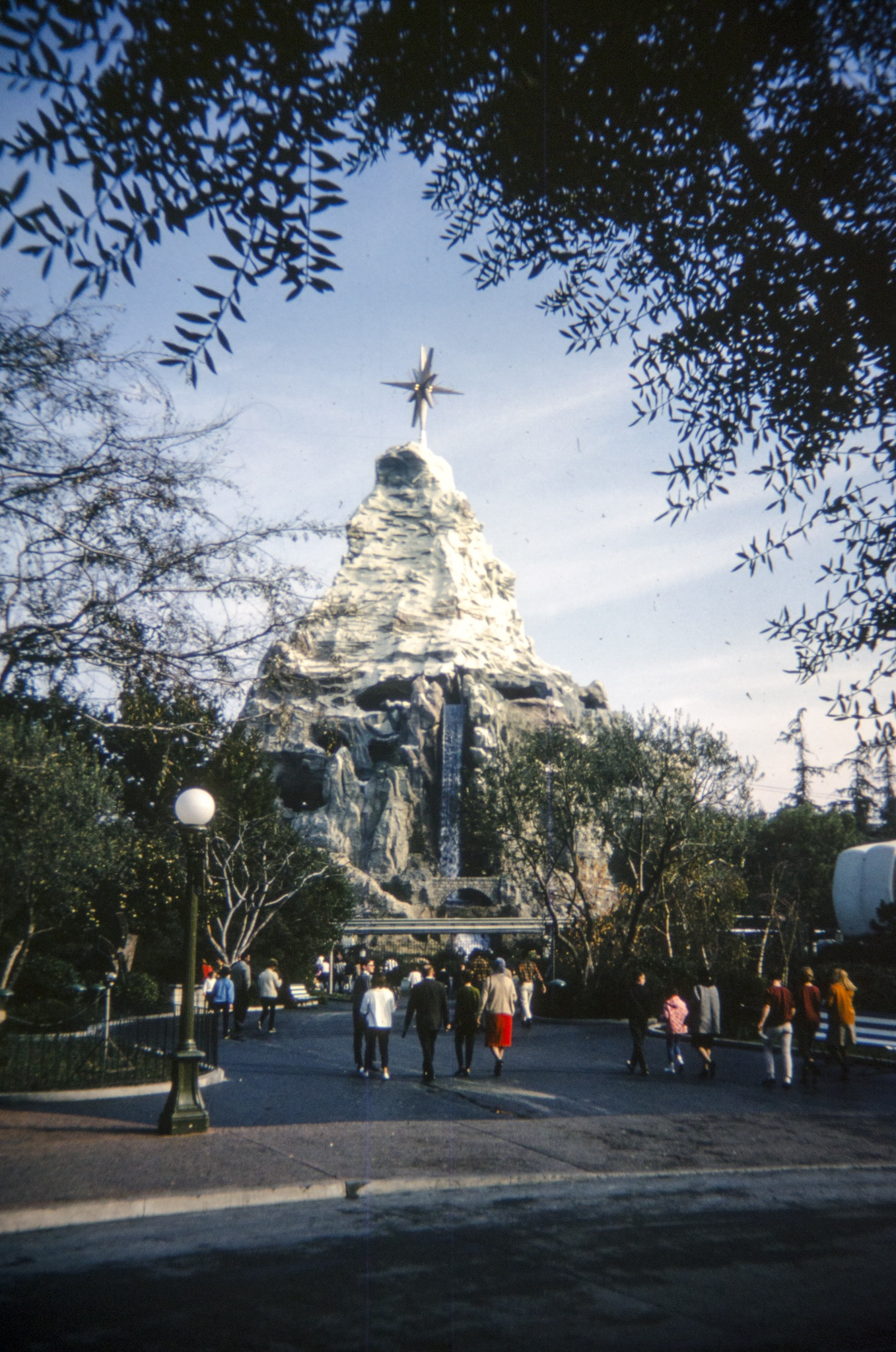 The Matterhorn with star