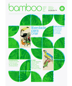 Bamboo magazine, Brazil. December 2014