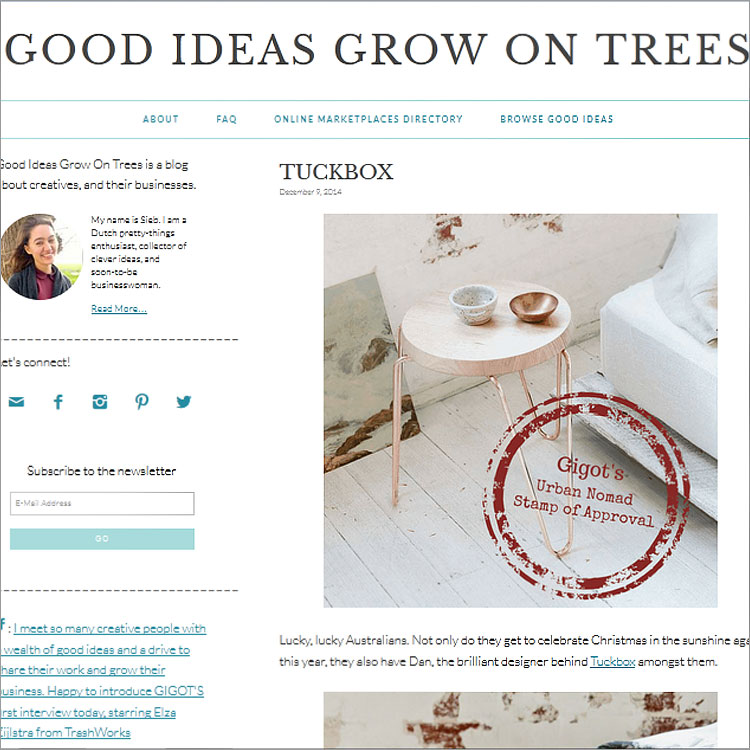 Good Ideas Grow on Trees - Holland