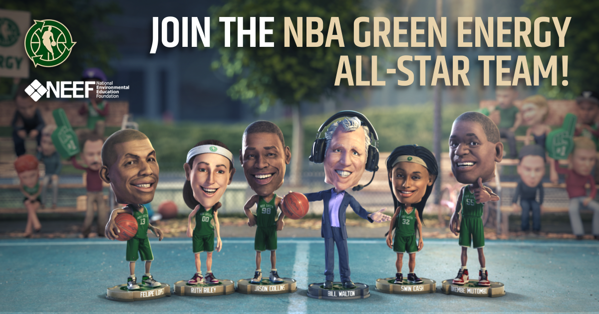 NBA Green Energy All-Star Campaign