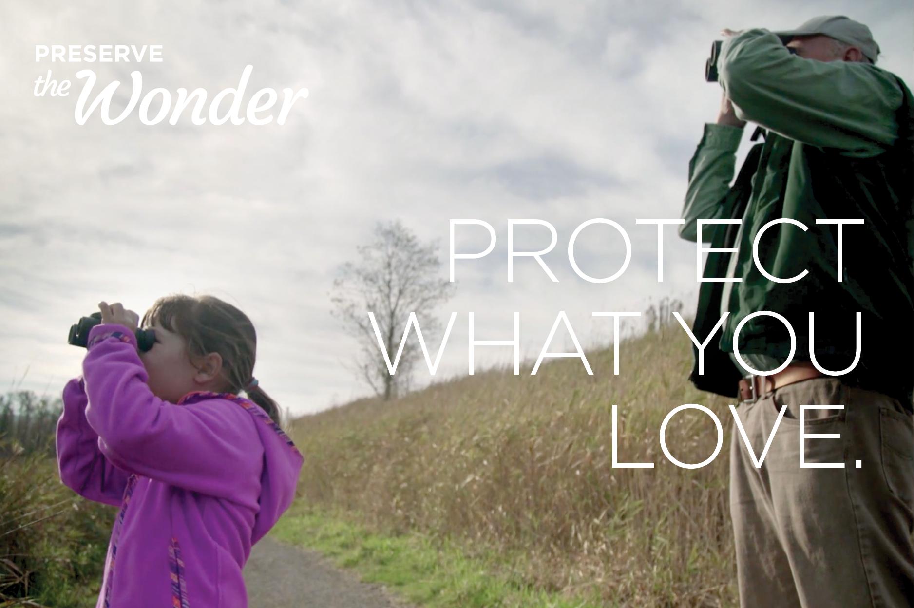 Preserve the Wonder campaign