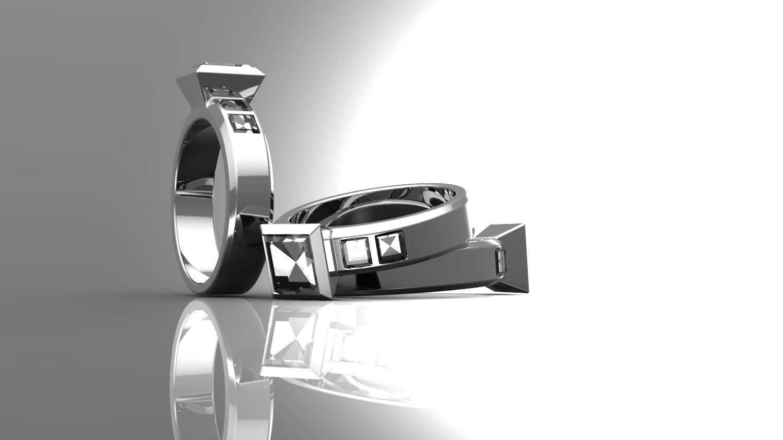 Engagement Ring CAD Design
