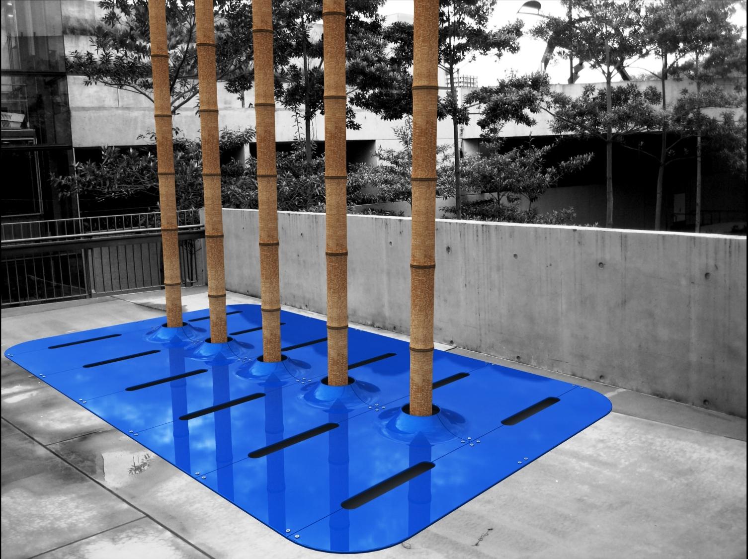Glossy Blue Colour Lifecyle Design