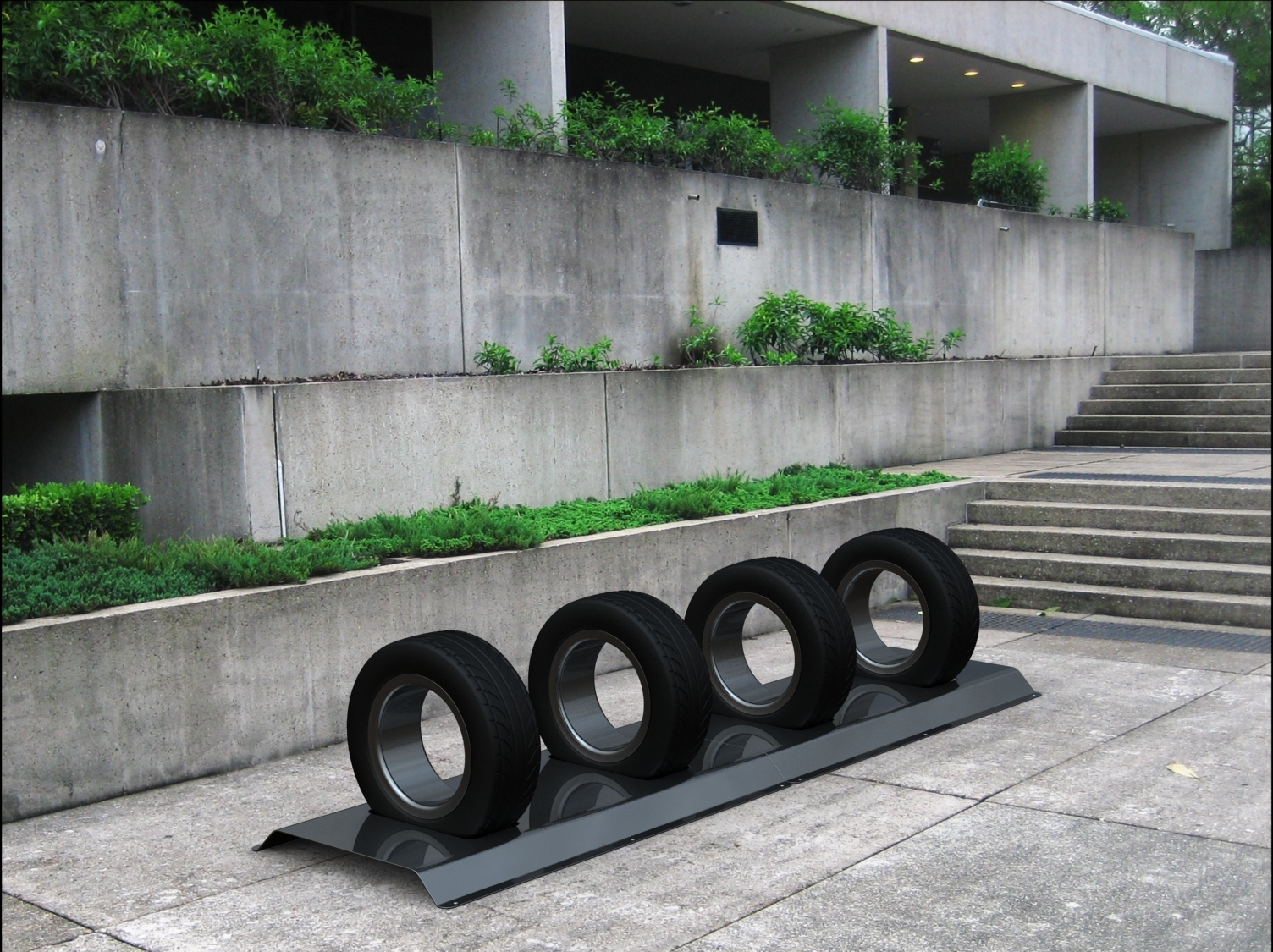 optOmism Bicycle Rack