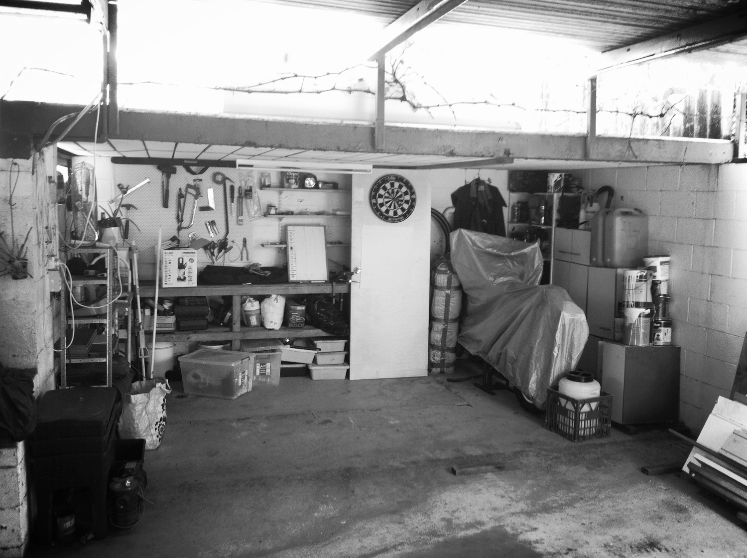 The old garage had not been sorted since we moved in...