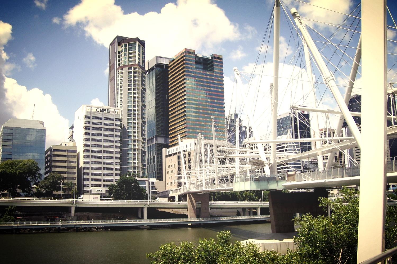 Kurilpa Bridge - Brisbane CBD