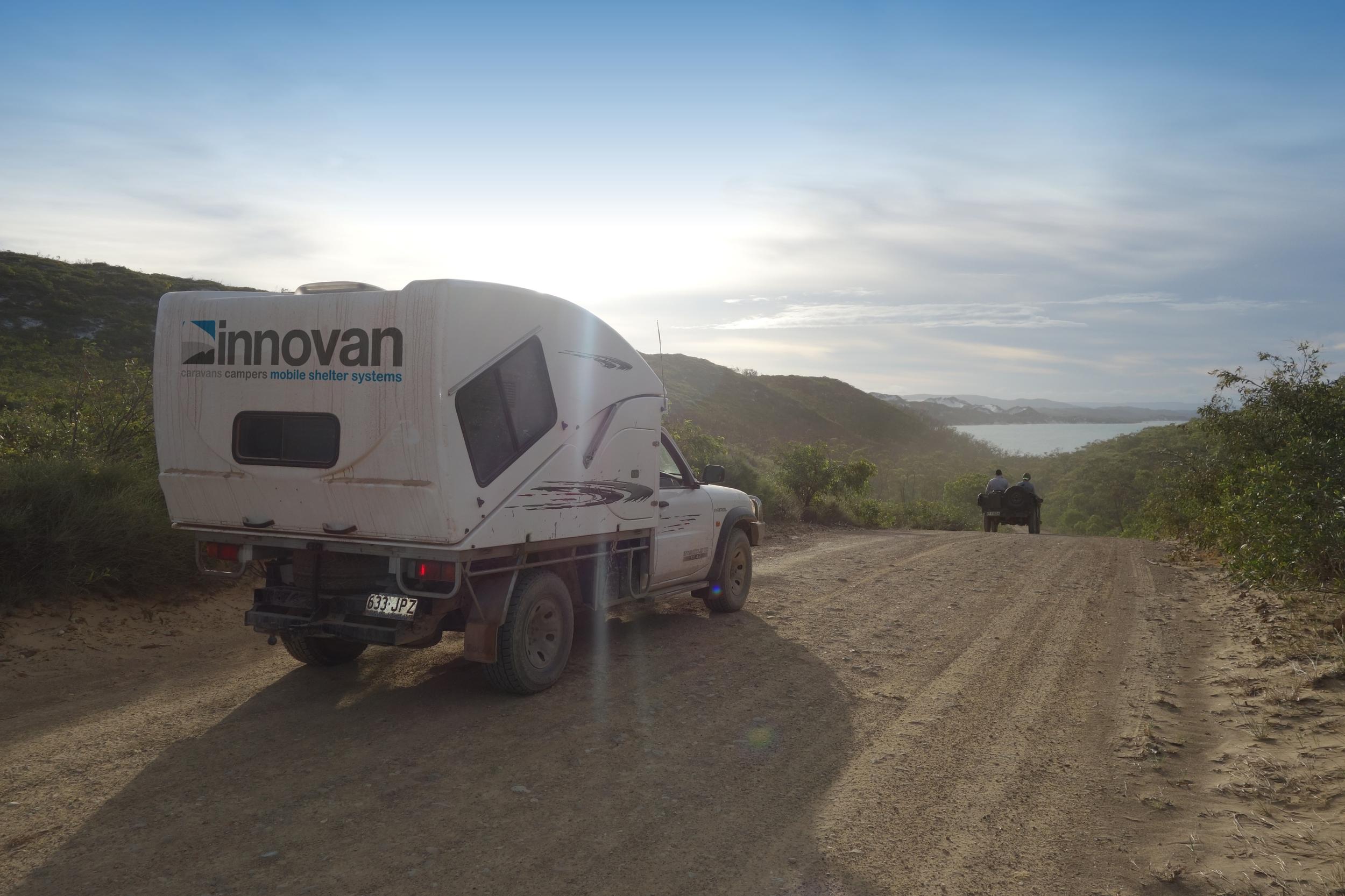 innovan off road caravans