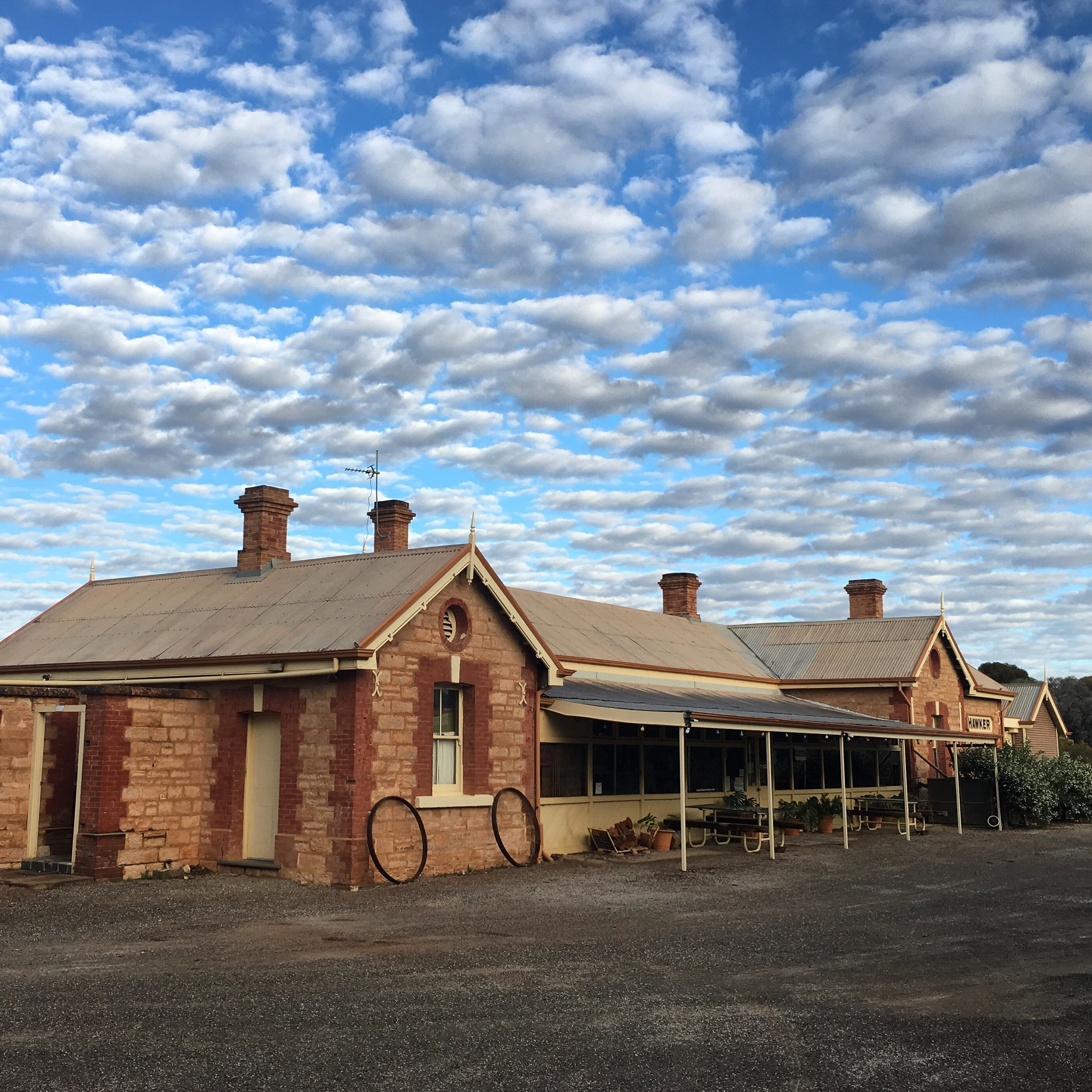 Old Ghan Railway Stn. Hawker