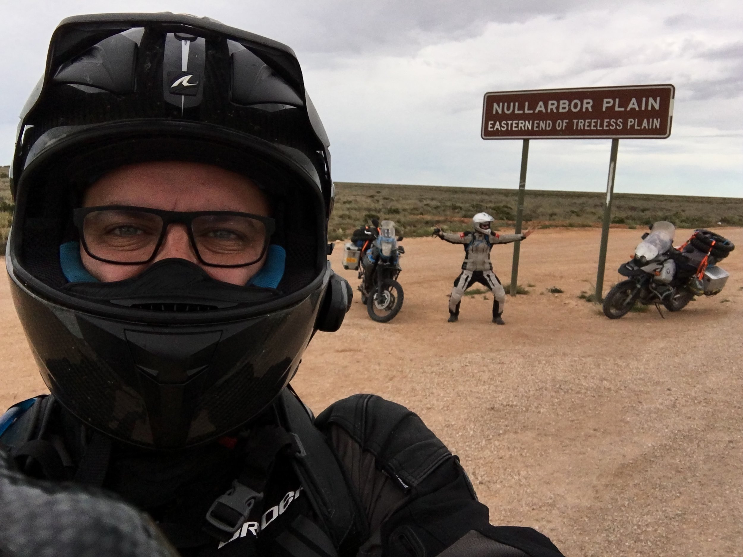Start of iconic Nullarbor Plain