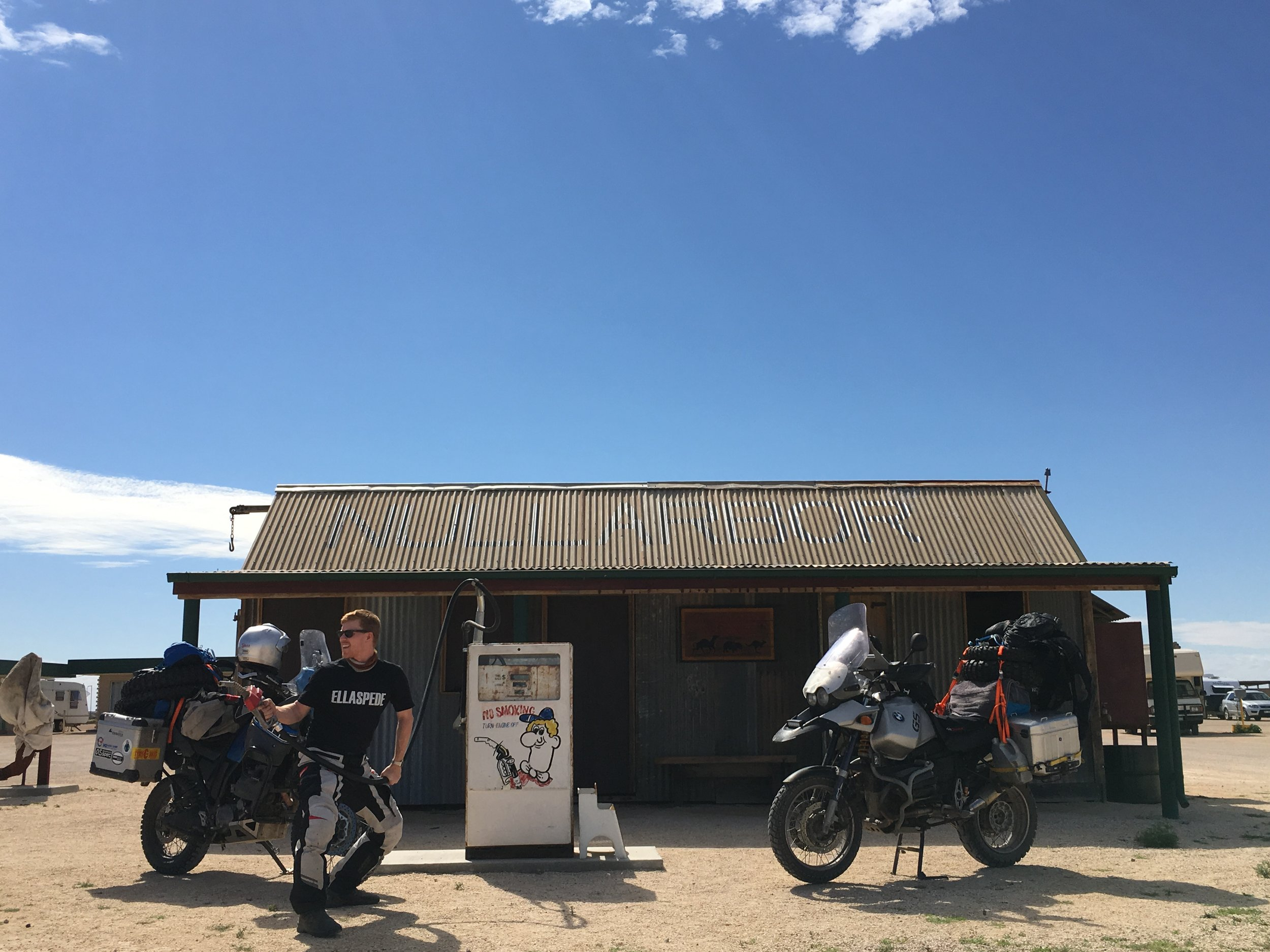 The iconic Nullarbor roadhouse
