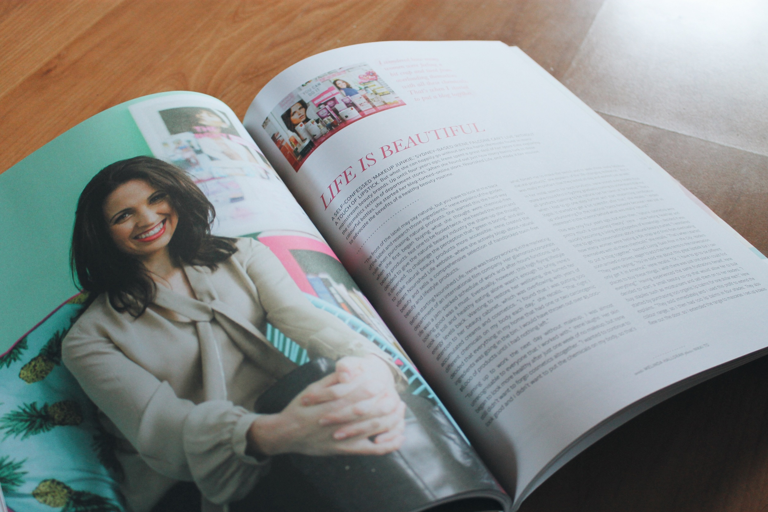Peppermint Magazine by Melinda Halloran