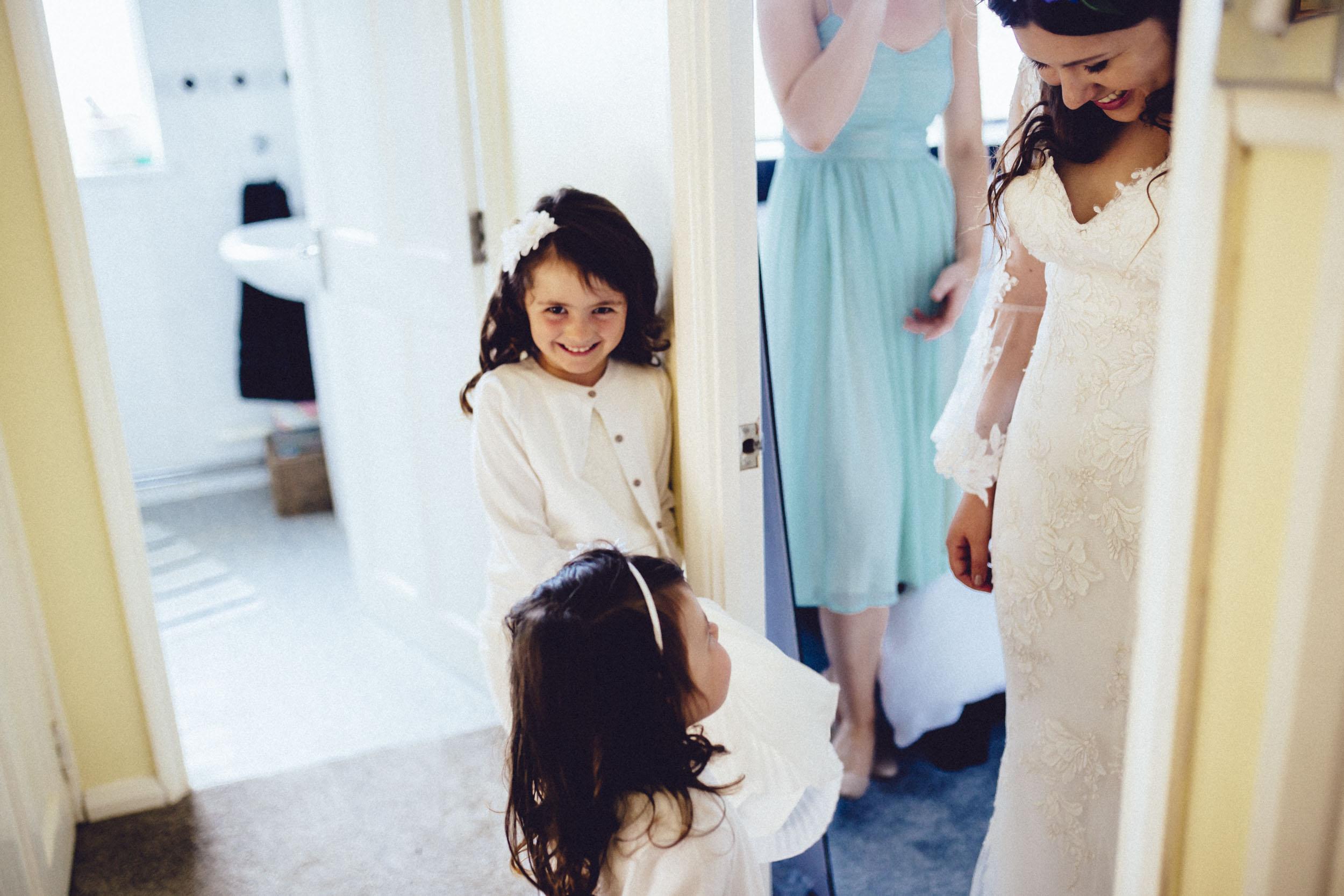06Curious Rose Wedding Photography- Laura Rhodes- Newton Park Farm- Birmingham Artistic wedding photography- bride- flower girl- lace wedding dress.jpg