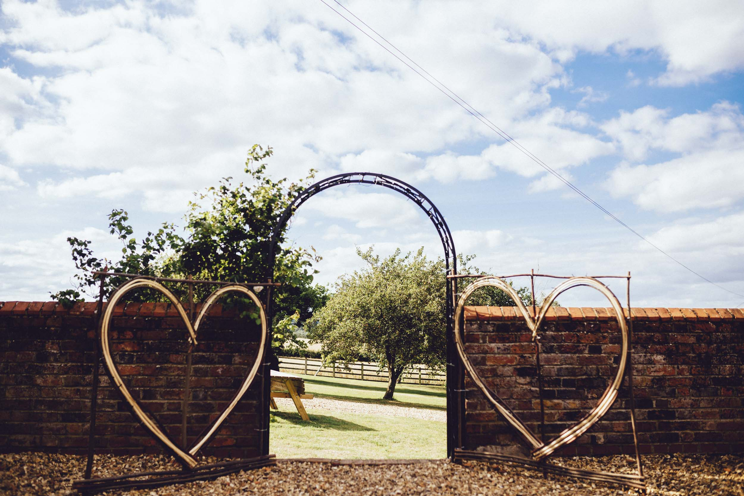 16Curious Rose Wedding Photography- Laura Rhodes- Newton Park Farm- Birmingham Artistic wedding photography-wedding hearts.jpg