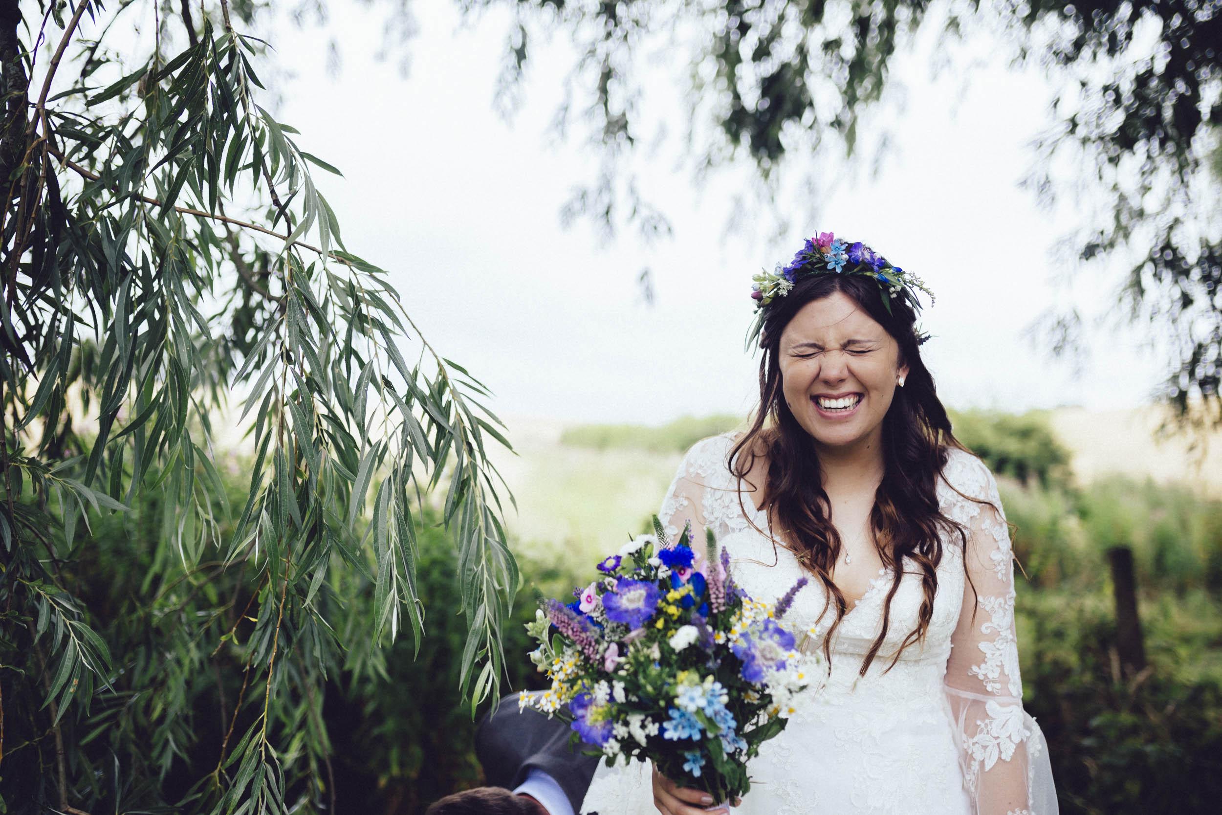 fun newton park farm wedding