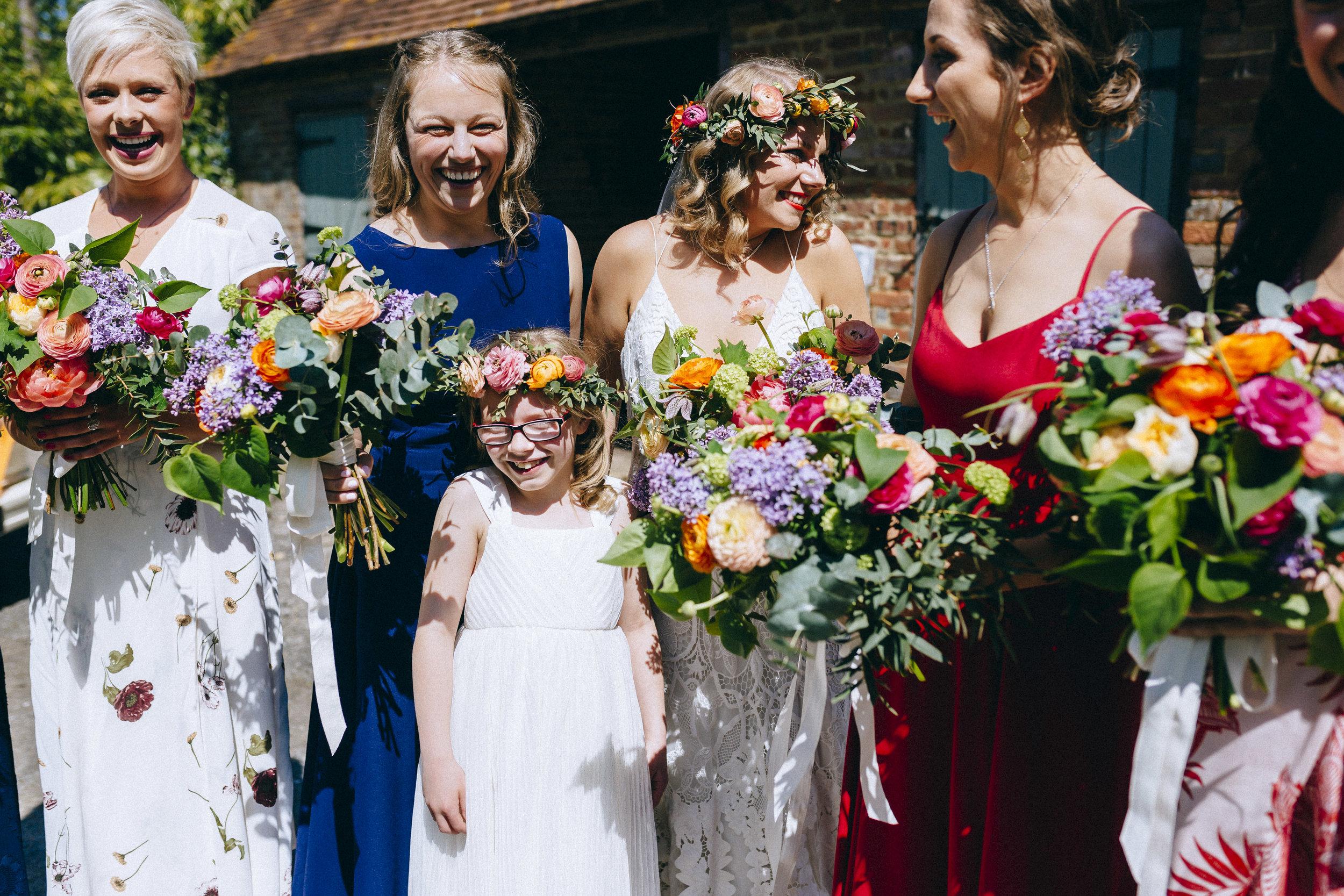Birmingham relaxed alternative wedding photographer- the secret barn- petal and feast- curious rose photography- laura rhodes- boho bride-0015.JPG