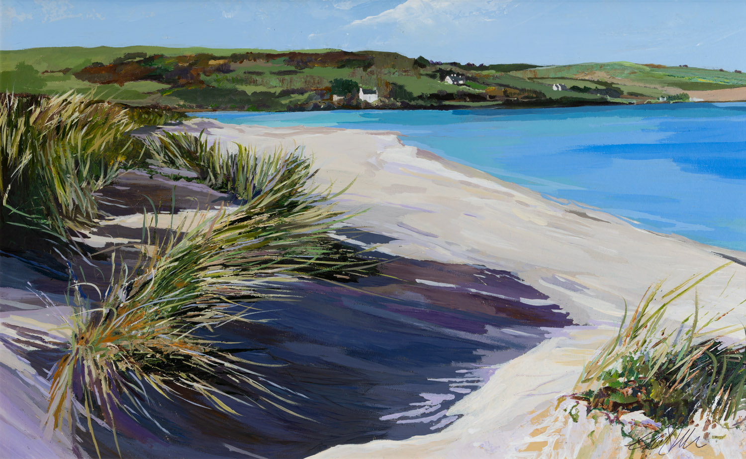 The Singing Grass at the Channel Inchydoney, 60x78cm.jpg