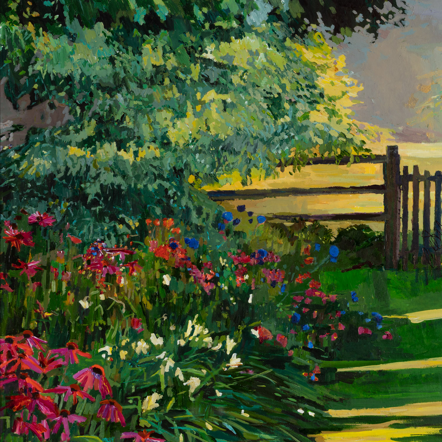 The Garden in a mellow light, 55x54cm (1).jpg