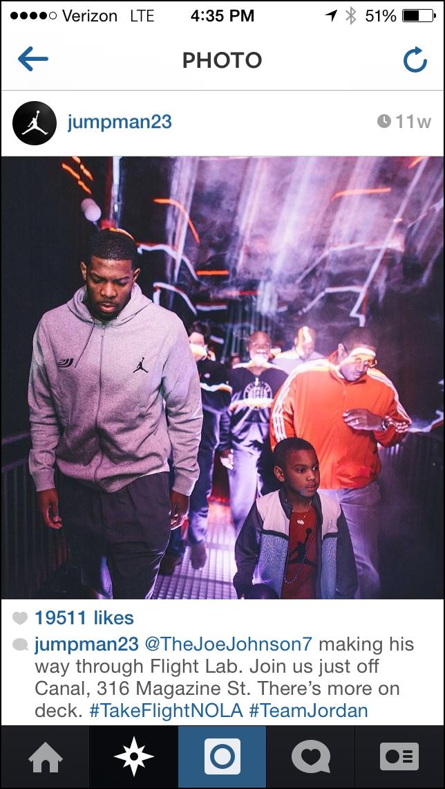 Air Jordan Instagram Feed
