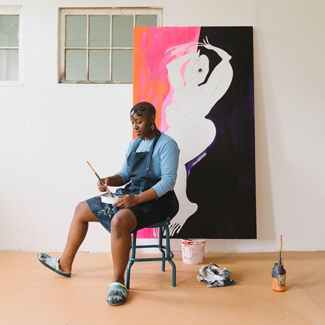 @theresachromati in her brand new studio. Shot for @tmagazine