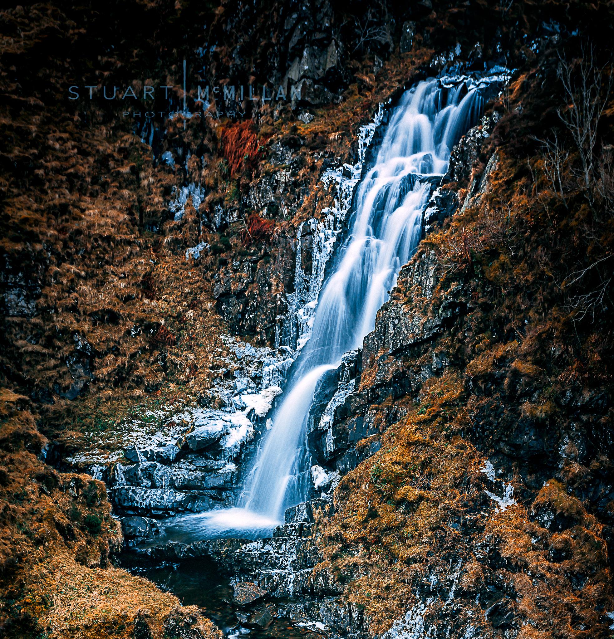 Waterfall below Loch Skeen 5D MKII | EF17-40mm f/4L USM | ISO 50 | f/6.3