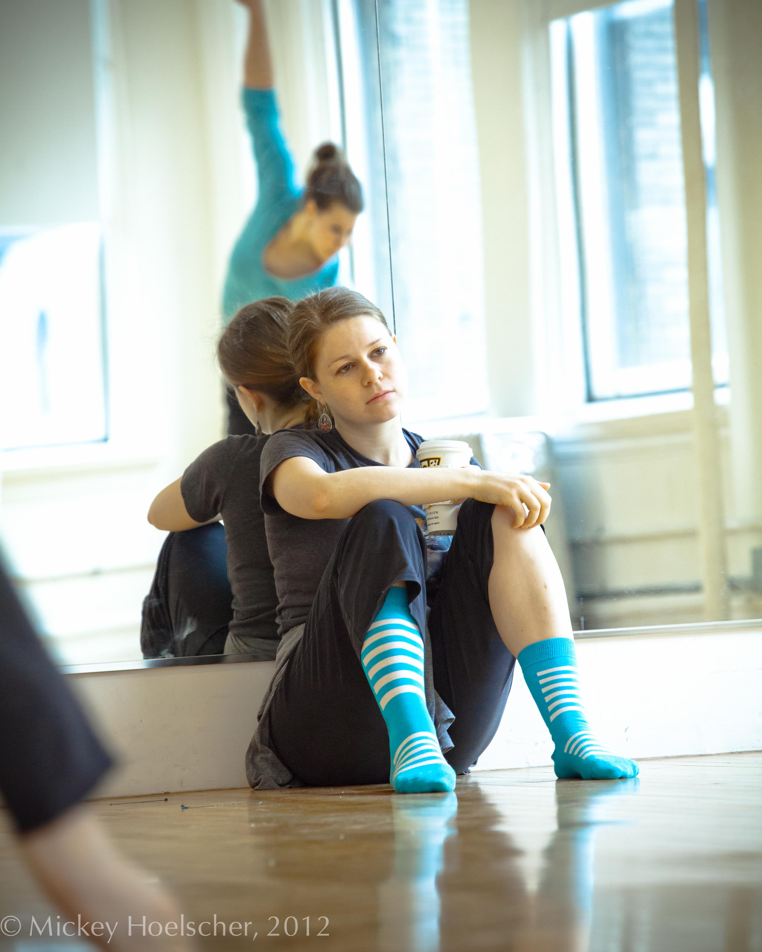 Barbie Diewald, Choreographer.   Photo by Mickey Hoelscher