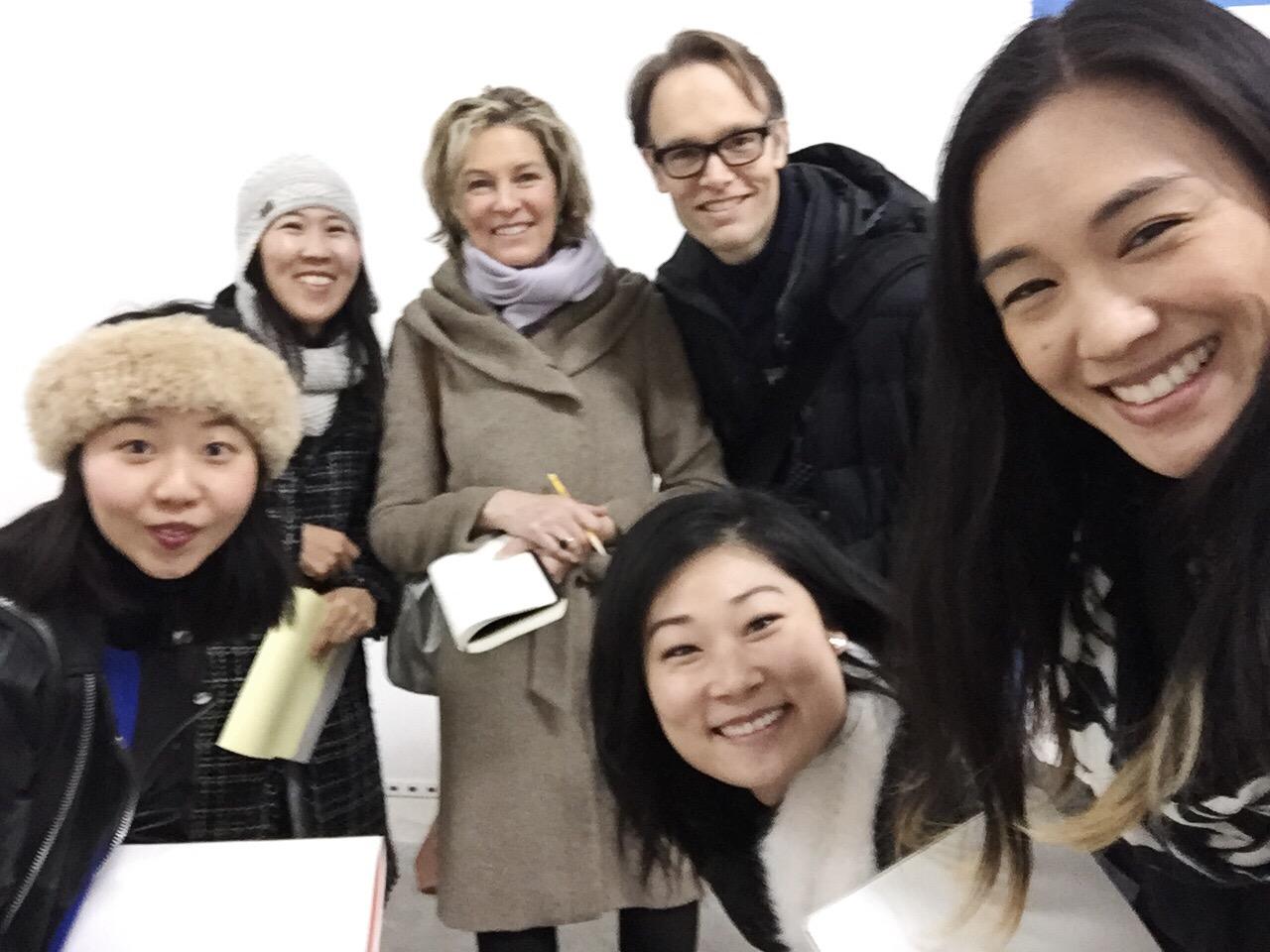 Beau Rhee of Atelier de Geste, Kina Park, Anne Patterson, Paul Haas, Isabel Kim, & Sugar Vendil