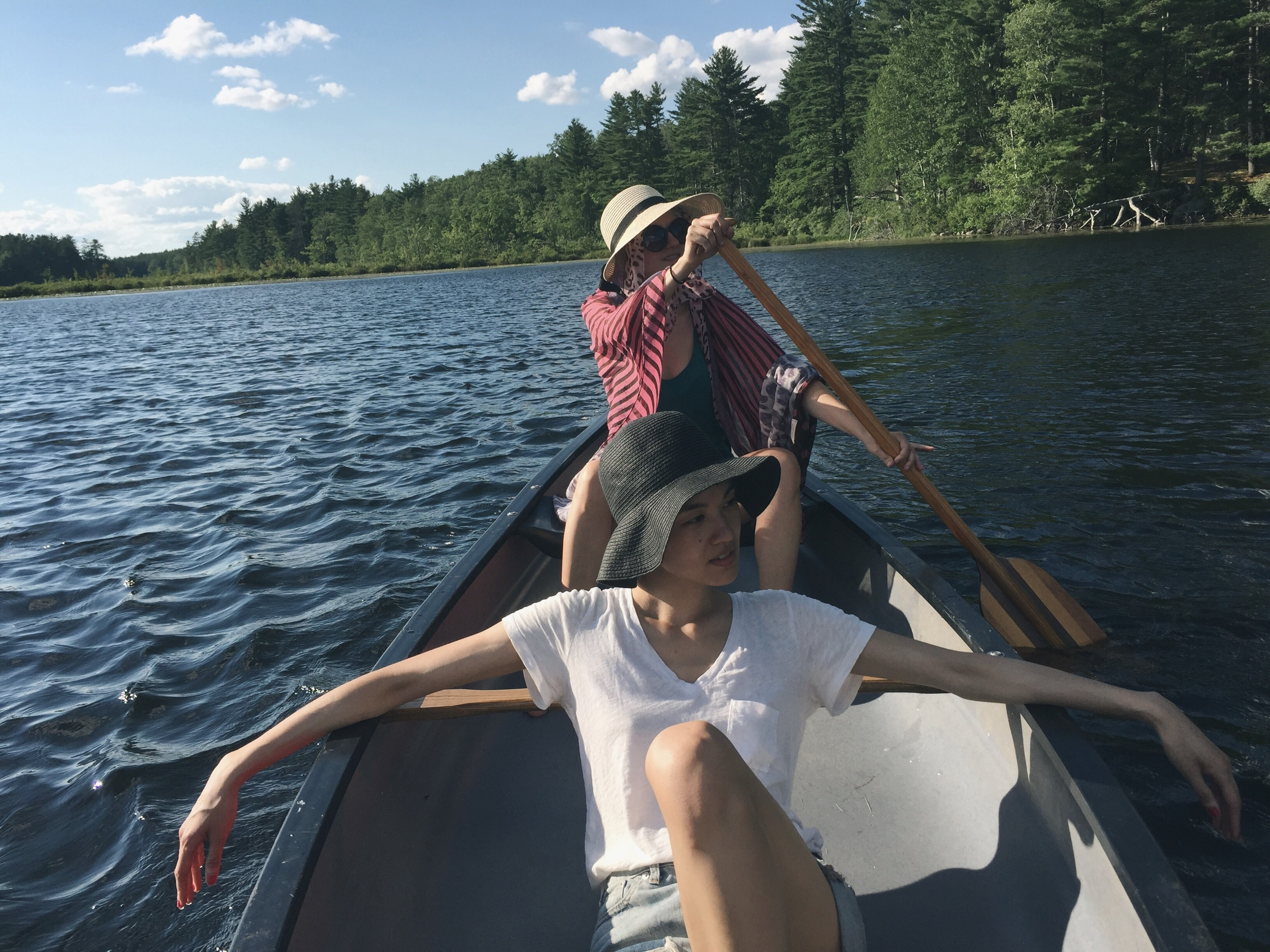 Canoeing was a key activity for us