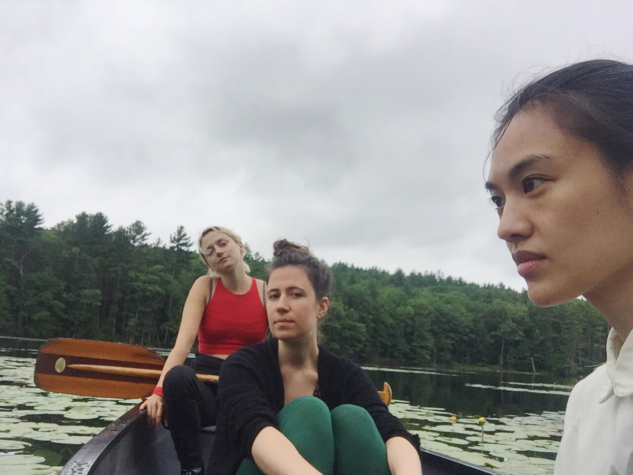 Remember what I said about canoeing?