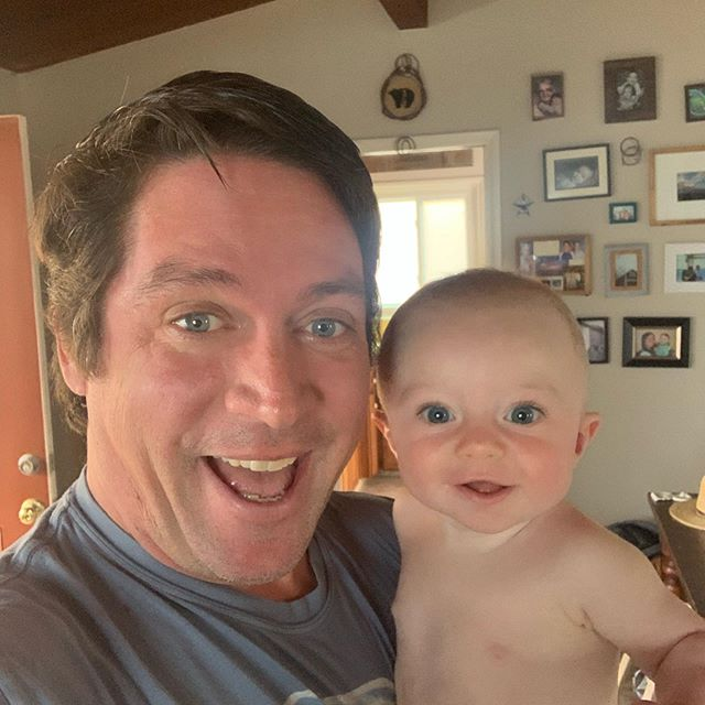 Happy 1st Father's Day @trickmurray this little man is so lucky to have you in his life. Watching you be a Dad has made me love you even more. #fathersday #dads #bestdad #kaipatrickmurray