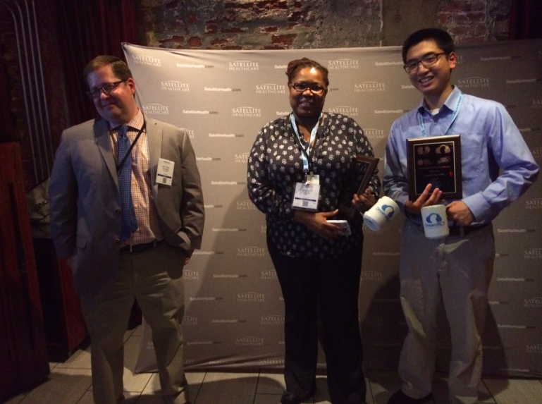 Matt, Scherly and Chi with their diplomas and #DreamRCT mugs