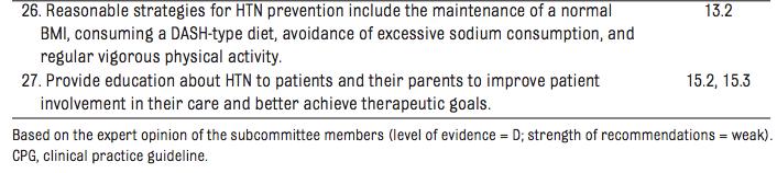 Table 2 from Flynn et al, Pediatrics, 2017