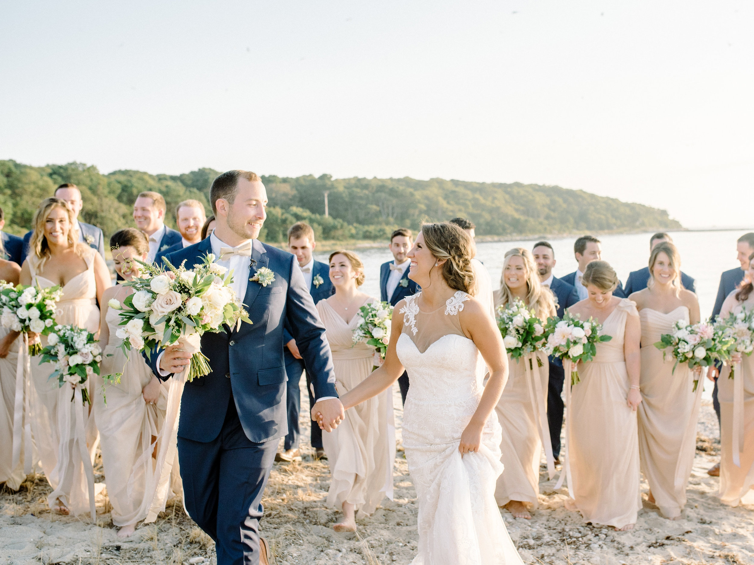 cape cod high end modern romantic wedding