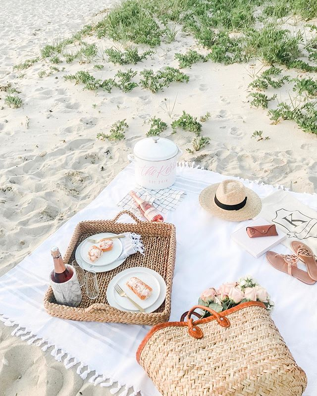 Summer is Made of This || I believe July should be made of beach picnics, rosé, lobster rolls, pots of steamers, s'mores making, waiting for freeze pops to be ready, waves crashing, fireworks and sparklers crackling... double tap if you do too ✨