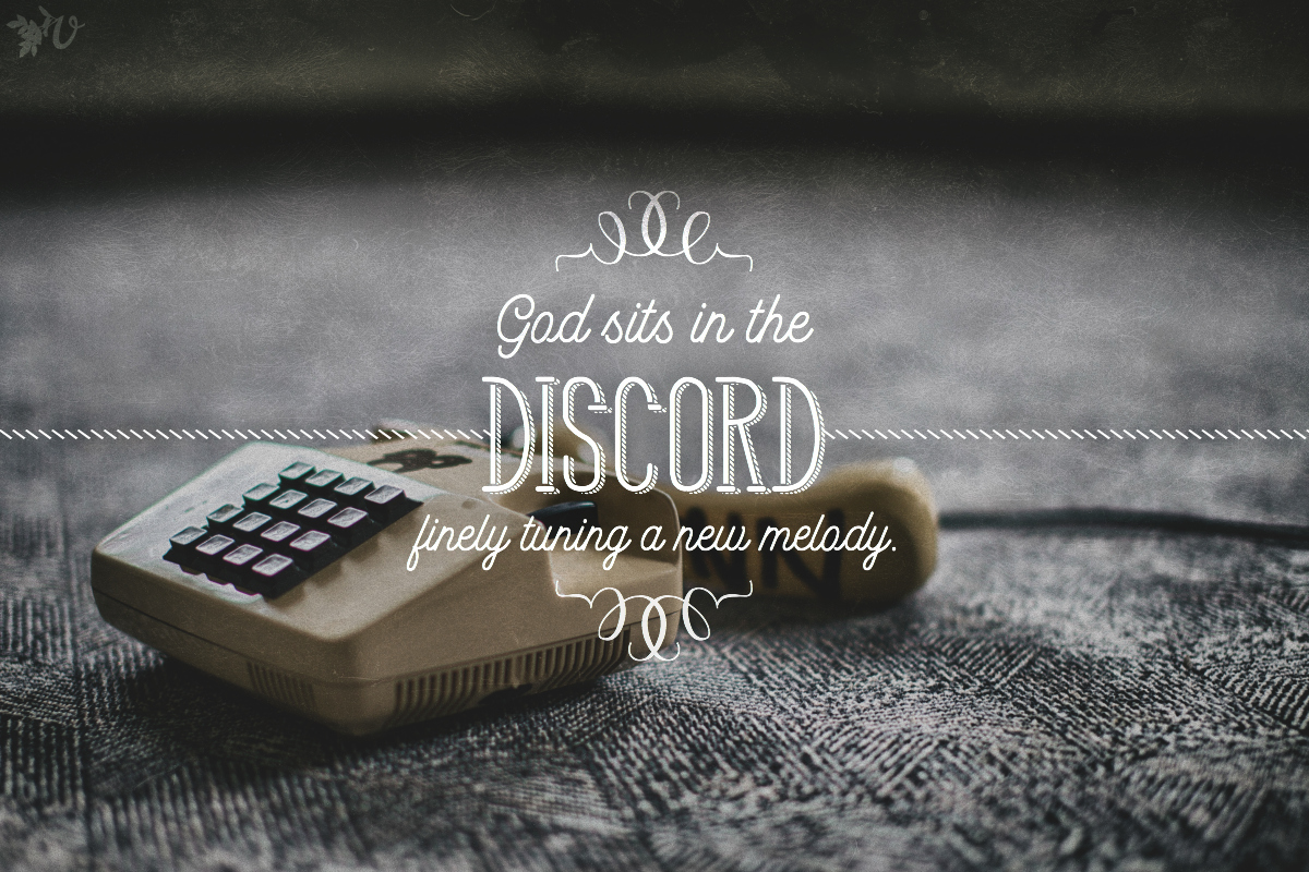 God sits in the discord