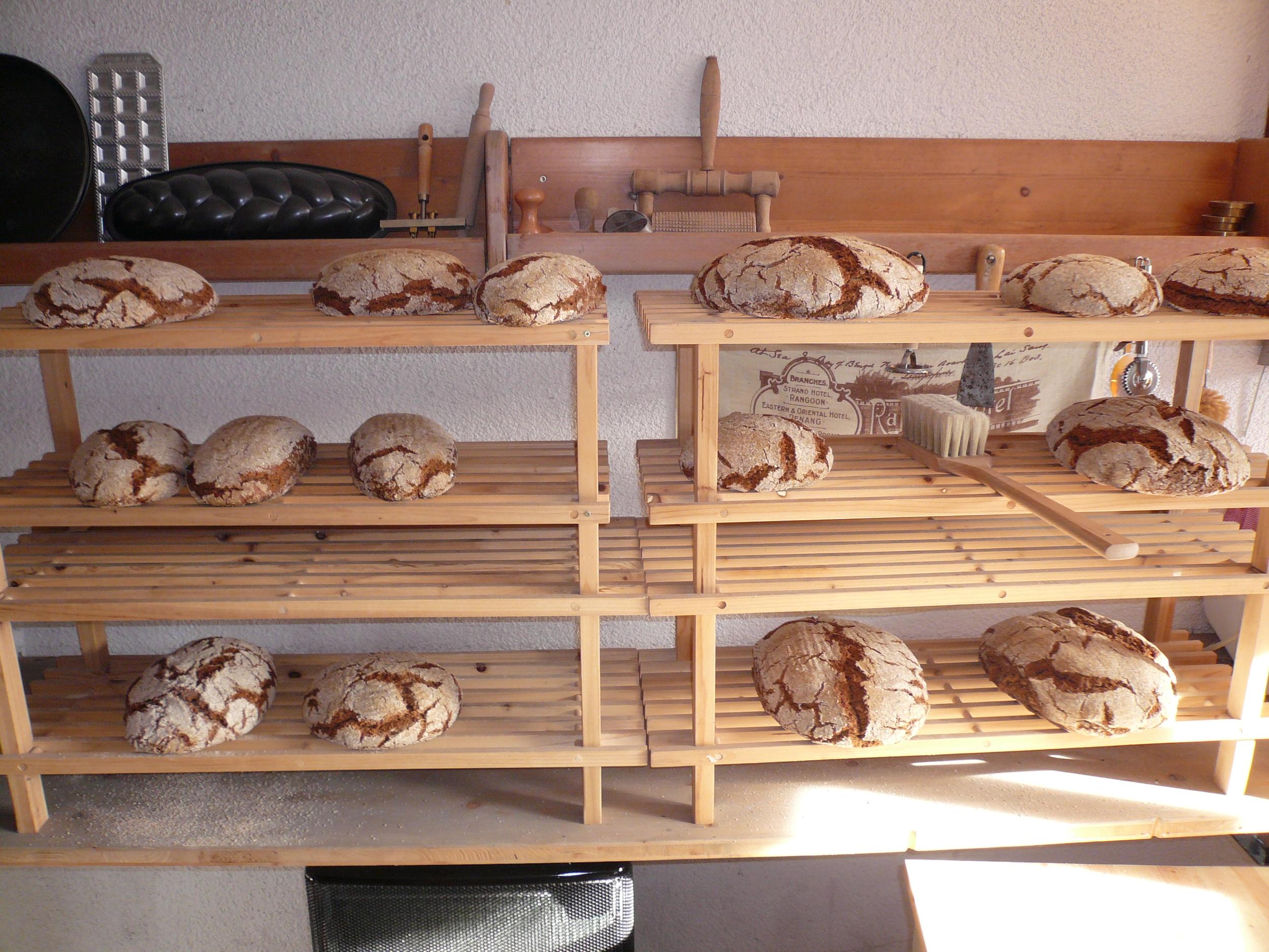 Brot aus dem Backofen